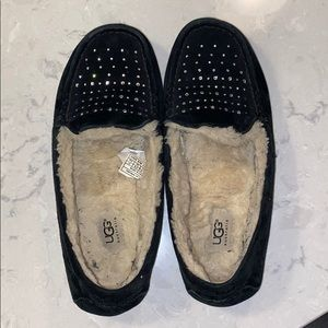 Sparkly UGG slippers